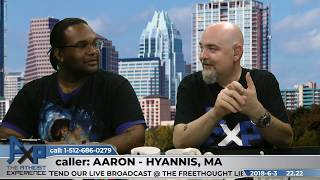 Atheist Experience 22.22 with Matt Dillahunty and Phil Session