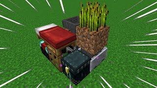 Minecraft: EU CONSEGUI CRIAR A MENOR CASA DO MUNDO!!!