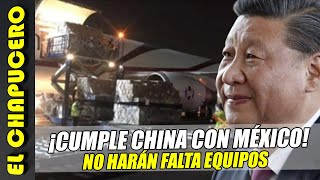 ¡Cumple China con México! No harán falta equipos médicos ni insumos
