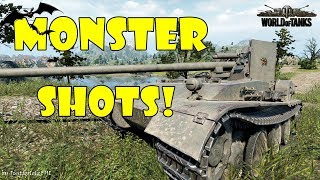World Of Tanks - Funny Moments | MONSTER SHOTS! #2 (Derp It Up!)
