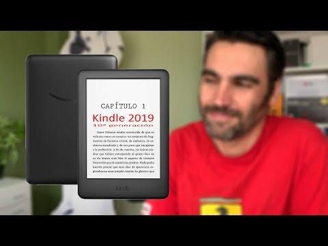 Amazon Kindle 2019 (10ª generación)  | review en español