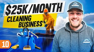 How to Make $25k/Month on a Cleaning Business