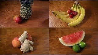 Recipe: Fresh Fruit Popsicles