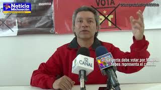 La gente debe votar por Marcelo Yepez representa el cambio: Marcelo Yépez