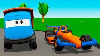Çocuk videosu. Leo Junior kumandalı araba yapıyor.
