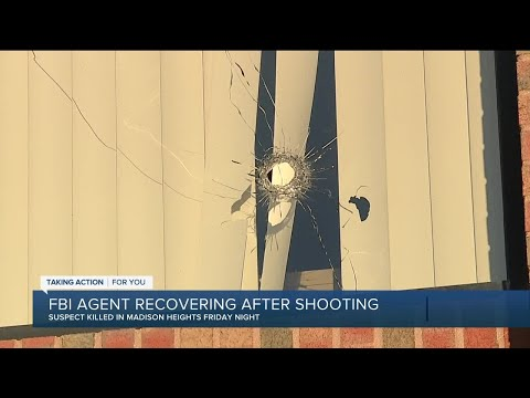 FBI agent recovering after shooting in Madison Heights