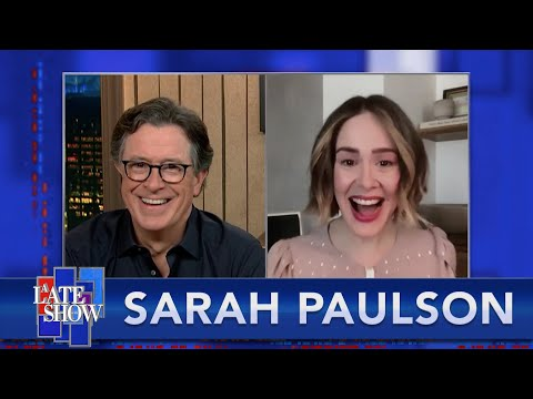 """""""Ratched"""" Star Sarah Paulson Can't Wait To Perform For A Live Audience Again"""