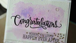 Congratulations - Wedding Card + UPDATE