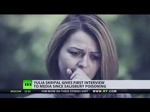 Yulia Skripal gives first interview since Salisbury poisoning