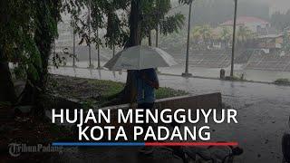 Hujan Guyur Kota Padang, BPBD: Waspadai Debit Air Meningkat, Potensi Sebabkan Banjir