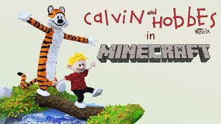 Calvin And Hobbes | Minecraft Build Timelapse