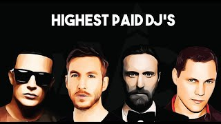 Top 10 Highest Paid Djs In The World | 2018 - 2019