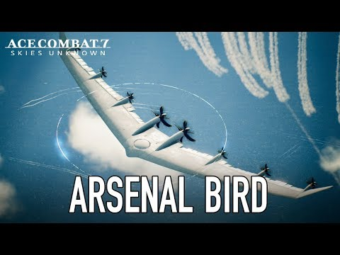 Ace Combat 7: Skies Unknown - PS4/XB1/PC - Arsenal Bird Trailer thumbnail