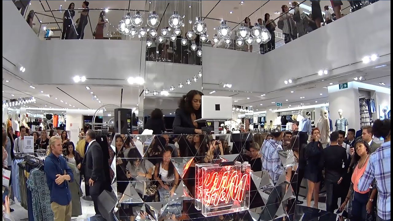 H&M Sydney Flagship Store Opening