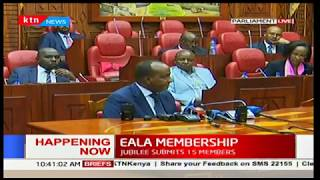EALA membership: Different parties presenting their names