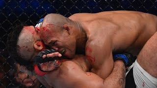 Jacare Souza destroys Vitor Belfort with vicious TKO - UFC 198 by UFC on Fox