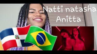 Natti Natasha X Anitta    Te Lo Dije (reaction   Reacción)