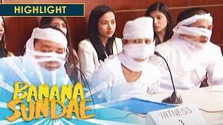 Banana Sundae: Senate Hearing