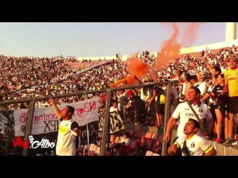"""Salta la Garra Blanca Descontrolada, Colo Colo 4 - Everton, Final Copa Chile"" Barra: Garra Blanca • Club: Colo-Colo"