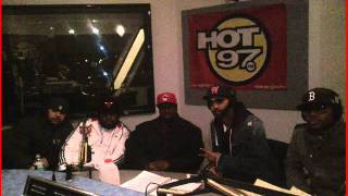 (Part 2) Slaughterhouse Funkmaster Flex Freestyle Hot 97 December 2011 ***Download Link***