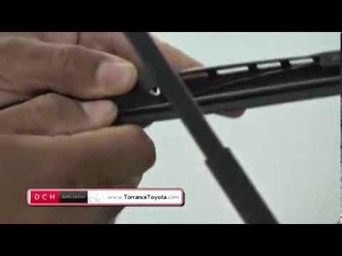 Πως να αλλάξετε λαστιχάκια στους υαλοκαθαριστήρες σας