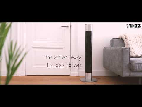 Smartwares Princess Smart App Tower Cooling Fan