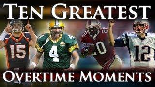 Ten Greatest Overtime Moments