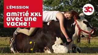 Une Amitié Incroyable Entre Une Fille Et Une Vache