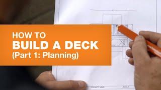 Deck Design & Deck Planning (How To Build A Deck Part 1/5)