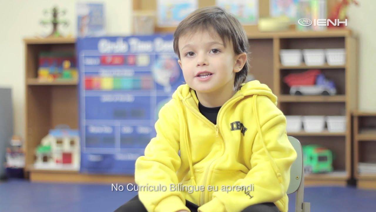 Ser Bilíngue me Inspira - Campanha de Matrículas IENH 2016