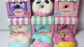 Super Jumbo Animal Donuts Squishy