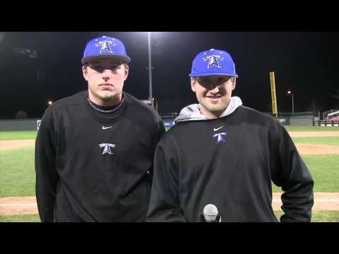 Todd Ezold and Kyle Szatrowski Senior Day Postgame Interview (5/1/15)