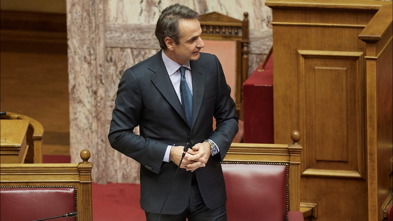Παρέμβαση του Πρωθυπουργού Κυριάκου Μητσοτάκη στη Βουλή για την Ημέρα για τα δικαιώματα των Γυναικών