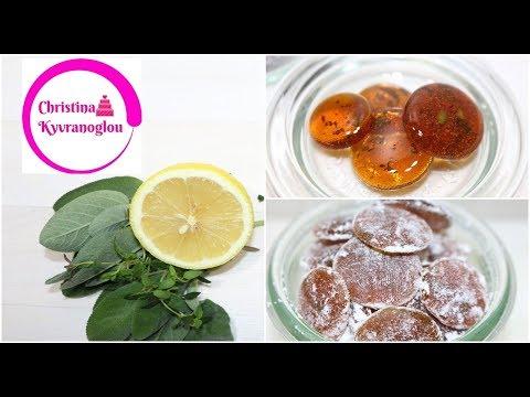 Hustenbonbons mit Salbei & Thymian / Selbst gemachte husten Bonbons / Christina Kyvranoglou