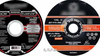 How to read a grinding wheel's specification-forturetools
