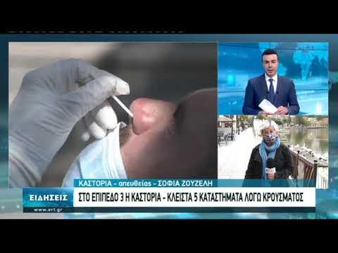 Καστοριά:Στην πορτοκαλί ζώνη αυξημένης επιτήρησης για κορονοϊό | 12/10/2020 | ΕΡΤ