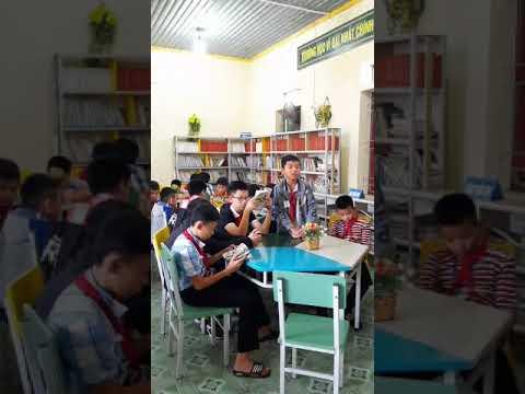 Trường THCS Xuân DIệu: Hoạt động thư viện