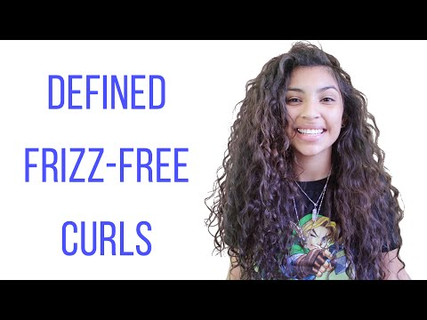 Video Healthy & Natural Curly Hair Care + Tips!