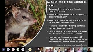 Final findings on knowledge synthesis to inform a national approach to fighting extinction