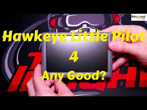 Hawkeye Little Pilot 4 48CH 5inch Dual Diversity FPV Monitor First Look(Banggood)
