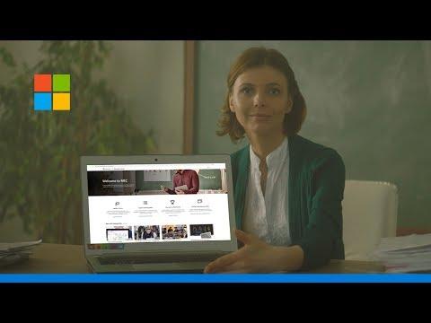 The Microsoft Educator Center - Teach Your Best! - YouTube