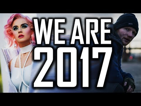 [175 Songs] ♫WE ARE 2017♫ (Year End Mashup 2017 By Blanter Co)