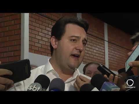 Governador Ratinho Jr inaugurou a ampliação da estação de tratamento da Sanepar em Pato Branco