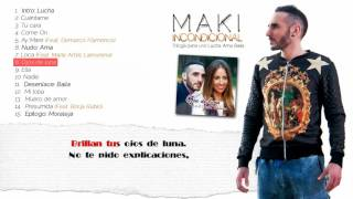 8. Maki - Ojos de luna (Feat. Helena) (Lyrics)
