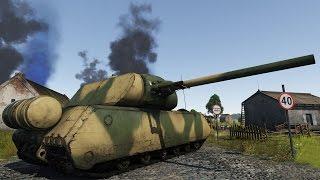 Cверхтяжелый немецкий танк Maus - War Thunder