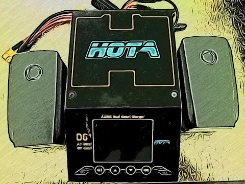Hota d6+ charging smart battery ( LIPO vs LIHV )