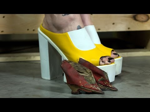 Download Chinese Foot Binding: Unboxing Lily Slippers HD Mp4 3GP Video and MP3
