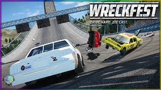 Rock Bottom Blowout! [Derby] | Wreckfest | NASCAR Legends Mod