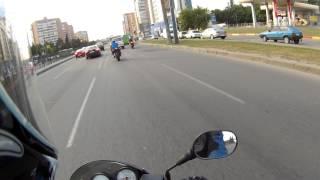По пути домой встретил два Suzuki GSXr