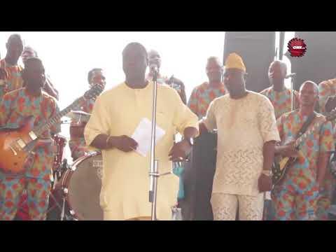 GREAT PERFORMANCE BETWEEN SAHEED OSUPA AND KING WASIU AYINDE K1 DE ULTIMATE LIVE ON STAGE